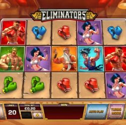 Eliminator Slot Online Playtech